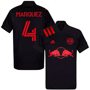 20-21 New York Red Bulls AwayShirt + Marquez 4 (Fan Style)