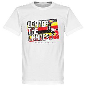 Uganda The Cranes Tee - White