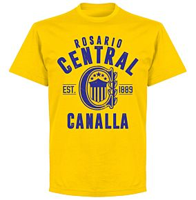 Rosario Central Established T-Shirt - Yellow