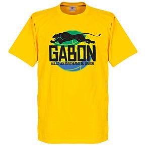 Gabon Logo Tee - Yellow