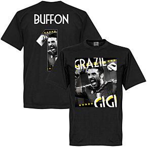 Grazie Gigi Buffon 1 Tee - Black