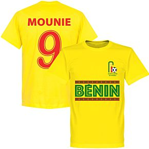 Benin Mounie 9 Team T-Shirt - Yellow