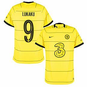21-22 Chelsea Away Dri-Fit ADV Match Shirt + Lukaku 9 (Official Cup Printing)