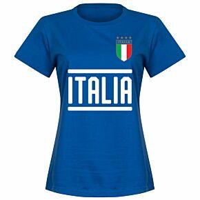 Italy Team Womens Tee - Royal