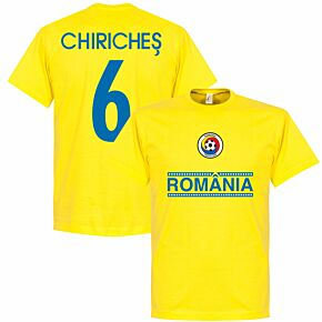 Romania Chiriches 6 Team Tee - Yellow