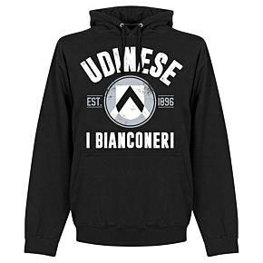 Udinese Established Hoodie - Black