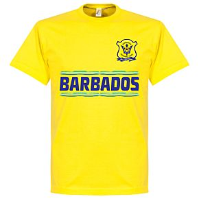 Barbados Team Tee - Yellow