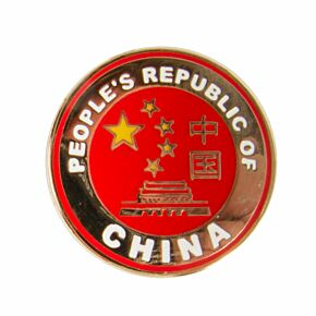 China Enamel Pin Badge