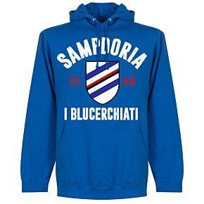Sampdoria Established Hoodie - Royal