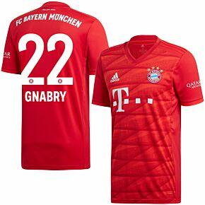 adidas Bayern Munich Home Gnabry 22 Jersey 2019-2020 (Official Printing)
