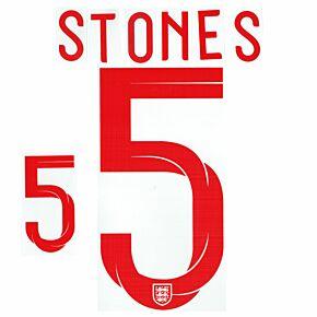 Stones 5 18-19 England Home