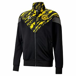 2021 Borussia Dortmund Iconic MCS Training Jacket - Black