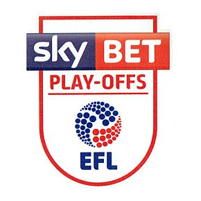 EFL League Two Play-Off Patch Pair 2016 / 2017