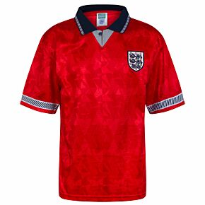 1990 England World Cup Finals Away Retro Shirt
