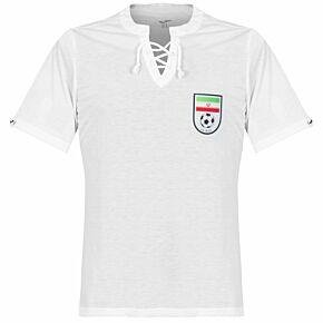 1950's Iran Retro Shirt - White
