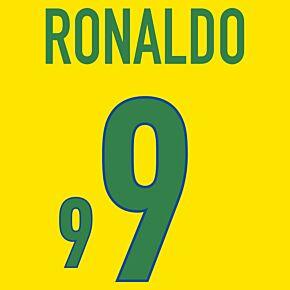 Ronaldo 9 (Fan Style) 20-21 Brazil Home