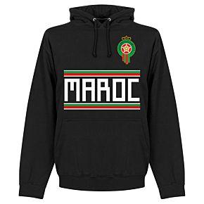 Morocco Team Hoodie - Black