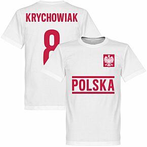 Poland Krychowiak Team Tee - White