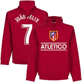 Atletico Madrid Joao Felix 7 Team Hoodie - Red