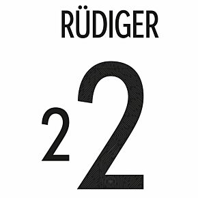 Rüdiger 2 (Official Printing) - 20-21 Germany Home