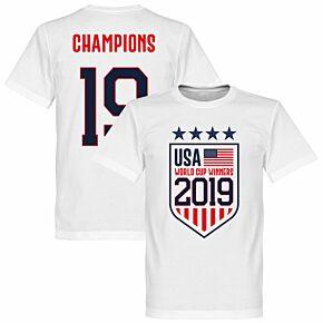 USA WWC Winner 2019 KIDS Tee - White