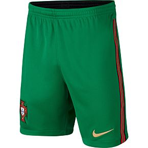 20-21 Portugal Home Shorts - Kids
