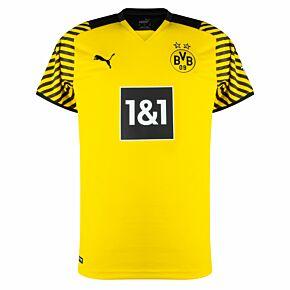 21-22 Borussia Dortmund Home Shirt - Kids