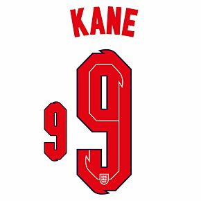 Kane 9 (Official Printing) - 20-21 England Home