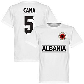 Albania Cana 5 Team Tee - White