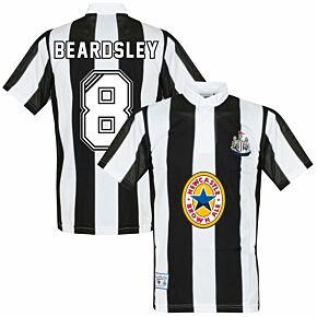 1996 Newcastle United Home Retro Shirt + Beardsley 8