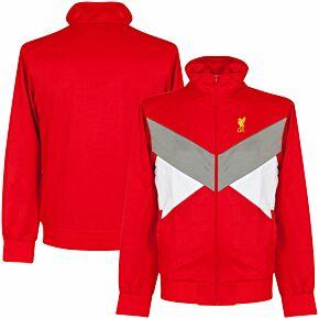 Liverpool Retro Jacket - Red/Grey/White