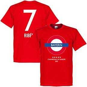 Bayern Undergrougnd Tee + Ribéry 7 - Red