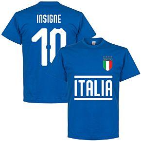 Italy Insigne 10 Team Tee - Royal
