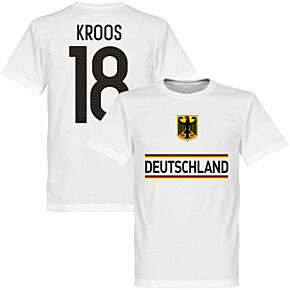 Germany Kroos 18 Team Tee - White