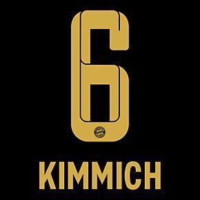 Kimmich 6 (Official Printing) - 21-22 Bayern Munich Away