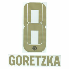 Goretzka 8 (Official Printing) - 21-22 Bayern Munich Away
