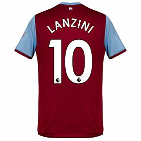 Umbro West Ham Home Lanzini 10 Jersey 2019-2020