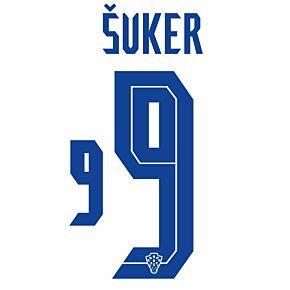 Šuker 9 (Official Printing) - 20-21 Croatia Home