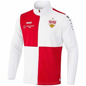 21-22 VFB Stuttgart Enema Training Jacket - White/Red