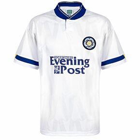 1992 Leeds Utd Home Retro Shirt - Yorks Evening Post Sponsor