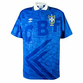 Umbro Brazil 1991-1993 Away Shirt - USED Condition (Great) - Size L *READY TO PUBLISH*