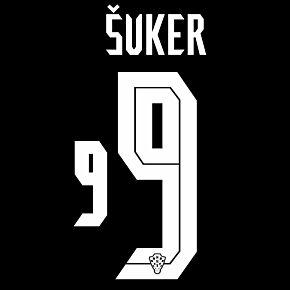 Šuker 9 (Official Printing) - 20-21 Croatia Away