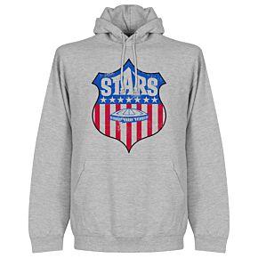 Houston Stars Hoodie  - Grey