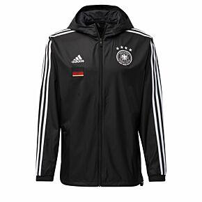 20-21 Germany Windbreaker Jacket - Black