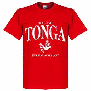 Tonga Rugby Tee - Red