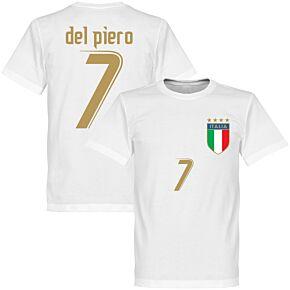 2006 Italy Del Piero Tee - White