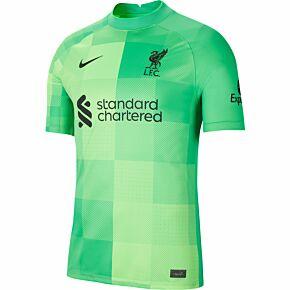 21-22 Liverpool Home GK Shirt