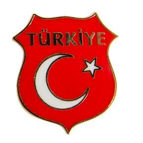 Turkey Enamel Pin Badge