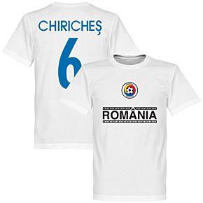 Romania Chiriches 6 Team Tee - White