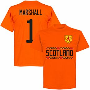 Scotland Marshall 1 Team T-shirt - Orange